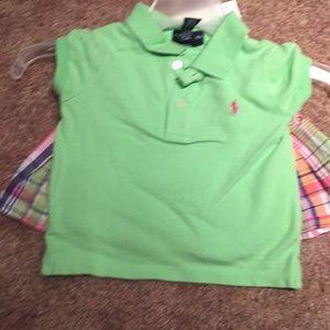 Ralph Lauren Shirt 4/4T & Skirt Size 3/3T
